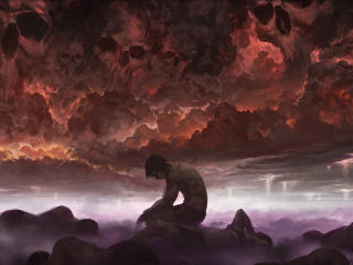 In Sorrow Magic Gathering Art wallpaper
