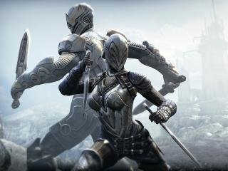 Infinity Blade x Fortnite wallpaper