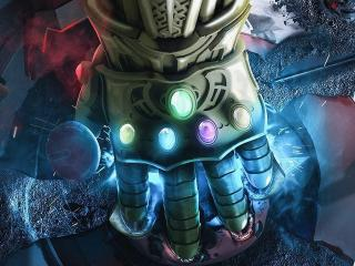 Infinity Gauntlet Of Thanos Avengers Infinity War 2018 wallpaper
