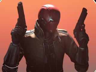 Injustice 2 Red Hood Art wallpaper