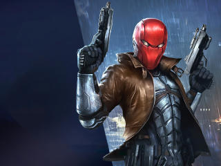 Injustice 2 Red Hood wallpaper
