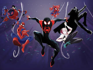 Into The Spider-Verse 2 Art wallpaper