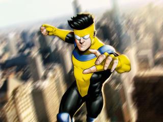 Invincible Mark Grayson Image Comics wallpaper