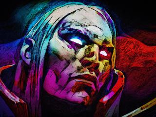 Invoker DotA 2 Digital Art wallpaper