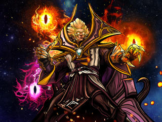 Invoker In DotA 2 wallpaper
