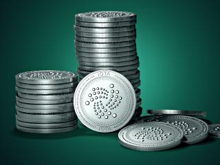 IOTA Cryptocurrency wallpaper