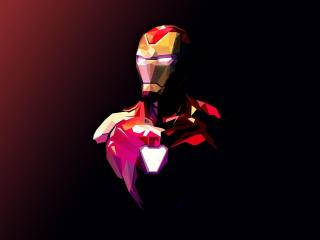 Iron Man Avenger Illustration wallpaper