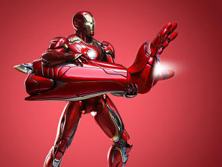 Iron Man Giant Hand wallpaper