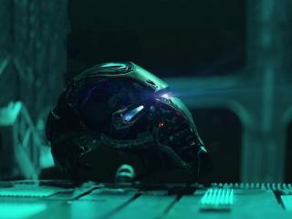 Iron Man Helmet From Avengers Endgame wallpaper