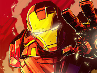 Iron Man New Illustration wallpaper