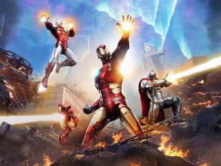 Iron Man of Marvel's Avengers wallpaper