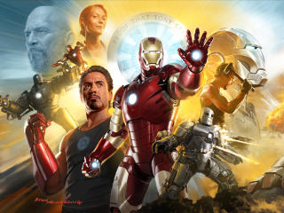 Iron Man Tribute wallpaper