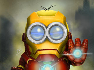 Iron Man x Minion wallpaper