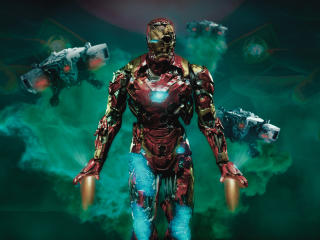 Iron Man Zombie wallpaper