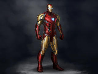 Ironman Avengers Endgame Suit Mark 85 wallpaper
