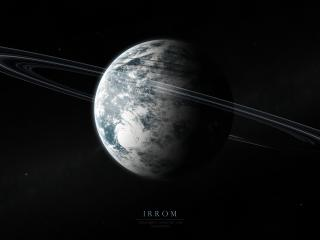 irrom, space, planets wallpaper