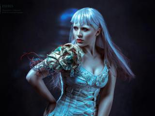 Iseris Alkatar Cyborg Photoshoot wallpaper