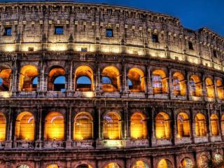 italy, rome, colosseum wallpaper