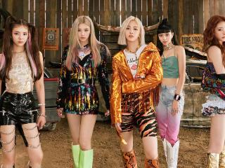 ITZY K-Pop All Members wallpaper