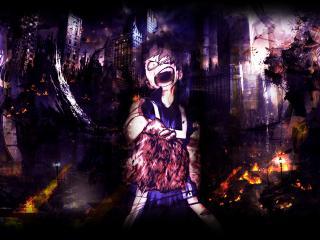 Izuku Midoriya Anime Art wallpaper