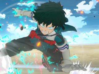 Izuku Midoriya Anime wallpaper