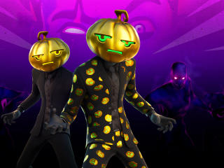 Jack Gourdon Outfit Fortnite Halloween wallpaper
