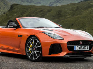 Jaguar F-Type SVR wallpaper