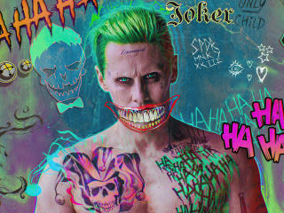 Jared Leto Joker FanArt wallpaper