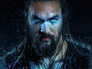 Jason Momoa as Aquaman Art wallpaper