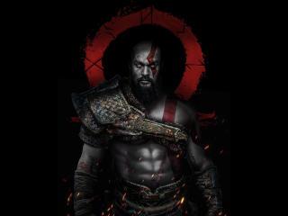 Jason Momoa as Kratos wallpaper