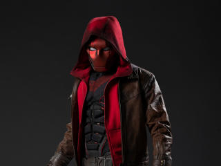 Jason Todd as Red Hood Titans Season 3 Concept Art wallpaper