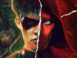 Jason Todd x Red Hood Art wallpaper