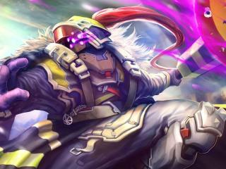 jax, league of legends, art wallpaper