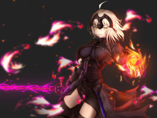 Jeanne Alter Anime wallpaper