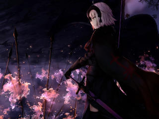 Jeanne d'Arc Alter Anime wallpaper