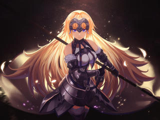 Jeanne d'Arc Cool Fate Series wallpaper
