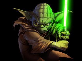 Jedi Yoda wallpaper