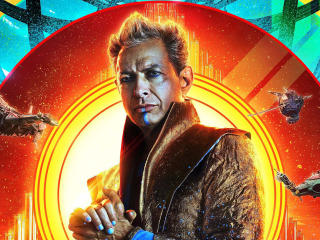 Jeff Goldblum As Grandmaster wallpaper