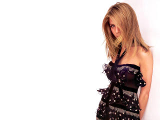 Jennifer Aniston In Black dress wallpapers wallpaper