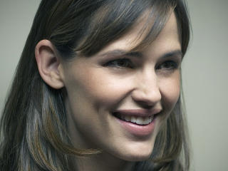 Jennifer Garner Smiling Face wallpaper