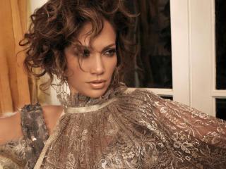 Jennifer Lopez Curly Hair style wallpaper wallpaper