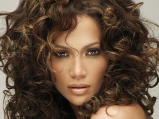 Jennifer Lopez Curly Hair wallpaper wallpaper