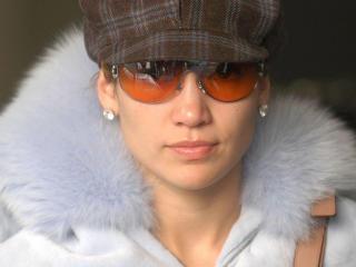 Jennifer Lopez In Orange Shades wallpaper wallpaper