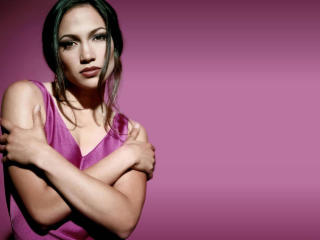 Jennifer Lopez Lovely Pink dress wallpapers wallpaper