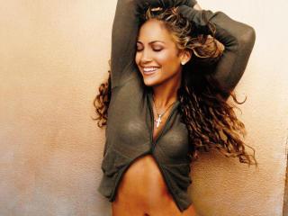 Jennifer Lopez Sexy Smiling wallpapers wallpaper