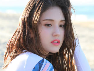 Jeon Somi Photoshoot K-Pop Singer wallpaper