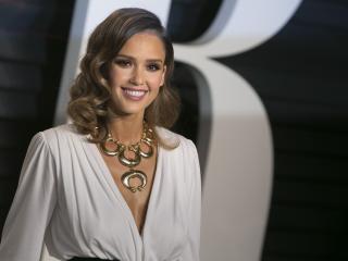 jessica alba, actress, smile wallpaper