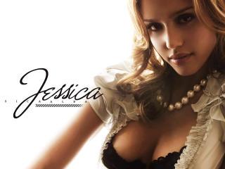 Jessica Alba Hot Poster wallpaper