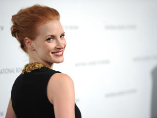 Jessica Chastain Smile Images wallpaper