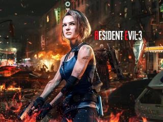Jill Valentine Resident Evil 2020 Art wallpaper